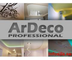 ARDECO Professional - Натяжные потолки!