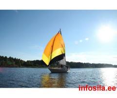 Морские и речные круизы на парусной яхте