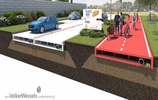Германия поможет Украине в разработке композитных шпал и пластиковых дорог